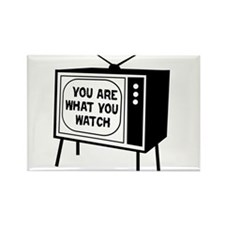 What you watch Rectangle Magnet