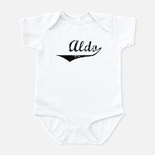 Aldo Vintage (Black) Infant Bodysuit