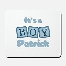 It's A Boy - Patrick Mousepad