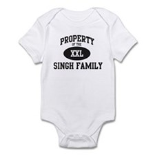 Property of Singh Family Infant Bodysuit