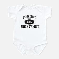 Property of Singh Family Infant Bodysuit