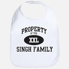 Property of Singh Family Bib