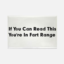 Fart Range Rectangle Magnet