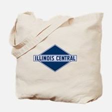 Historic diamond logo illinois central tr Tote Bag