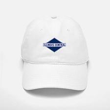Historic diamond logo illinois central train Baseball Baseball Cap