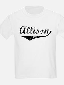 Allison Vintage (Black) T-Shirt