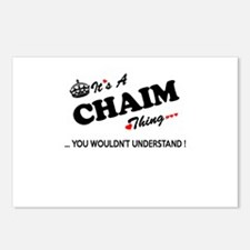 CHAIM thing, you wouldn't Postcards (Package of 8)