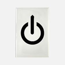 Power Button Rectangle Magnet