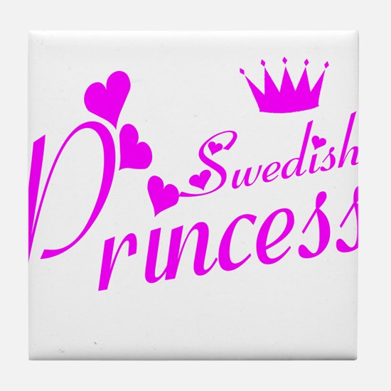 Swedish princess Tile Coaster