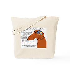 Weiner Brain (red) Tote Bag