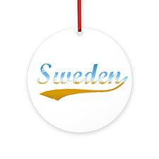 Sweden beach Ornament (Round)