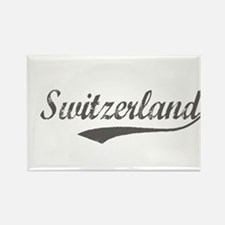 Funny Switzerland map Rectangle Magnet