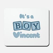 It's A Boy - Vincent Mousepad