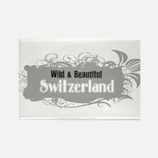 Wild Switzerland Rectangle Magnet