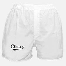 Alvaro Vintage (Black) Boxer Shorts