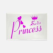swiss princess Rectangle Magnet
