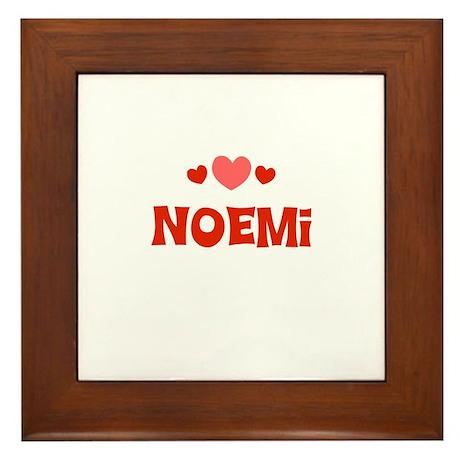 Noemi Framed Tile