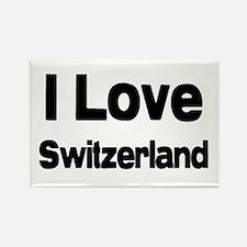 Switzerland rocks Rectangle Magnet