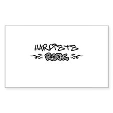 Harpists Rectangle Decal