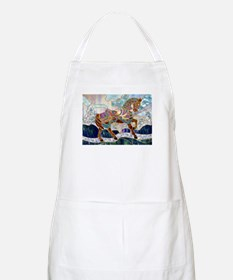 Armoured Carousel Horse BBQ Apron