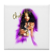 Chaka Khan Airbrush Tile Coaster