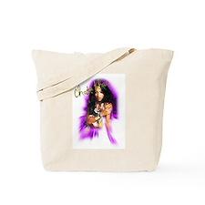 Chaka Khan Airbrush Tote Bag