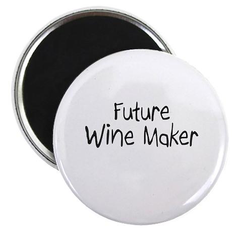 "Future Wine Maker 2.25"" Magnet (10 pack)"