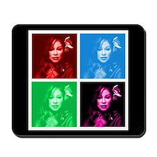 Chaka Khan in Color Mousepad