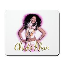 Chaka Khan Leather & Feathers Mousepad