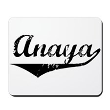 Anaya Vintage (Black) Mousepad