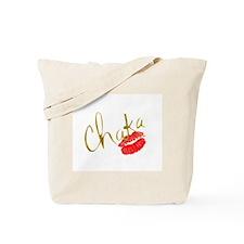 Chaka Gold Kiss Tote Bag