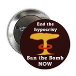 Ten Discount Ban the Bomb Buttons