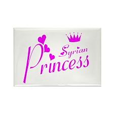 Syria princess Rectangle Magnet