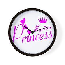 Syria princess Wall Clock