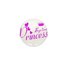 Syrian pricness Mini Button