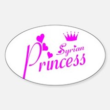 Syrian pricness Oval Decal