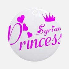 Syrian pricness Ornament (Round)