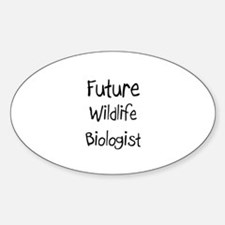 Future Wildlife Biologist Oval Decal