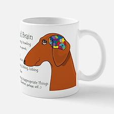 Weiner Brain (red) Mug