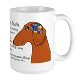 Dachshund Large Mugs (15 oz)