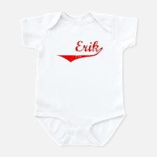 Erik Vintage (Red) Infant Bodysuit