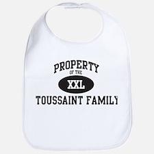 Property of Toussaint Family Bib