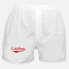 Esteban Vintage (Red) Boxer Shorts