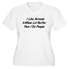 Animals Better Than People T-Shirt