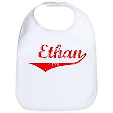 Ethan Vintage (Red) Bib