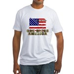 American Eagle Patriotic Fitted T-Shirt