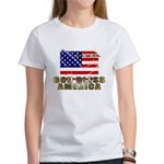 American Eagle Patriotic Women's T-Shirt