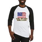 American Eagle Patriotic Baseball Jersey