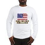 American Eagle Patriotic Long Sleeve T-Shirt