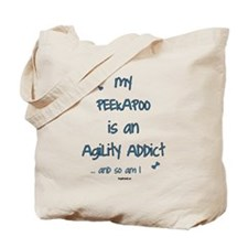 Peekapoo Agility Addict Tote Bag